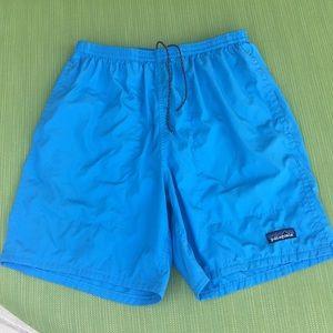 Patagonia Men's Swim Trunks. Blue. Size M.